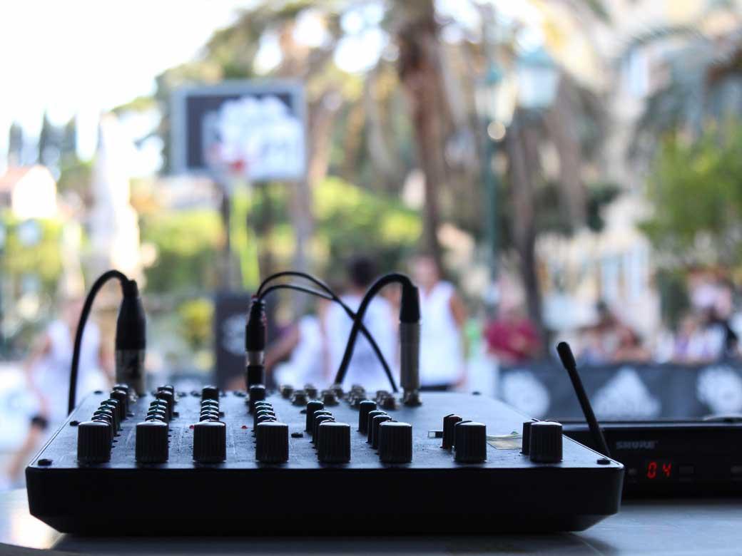 Impianto di diffusione sonora - Noleggiocampi.it
