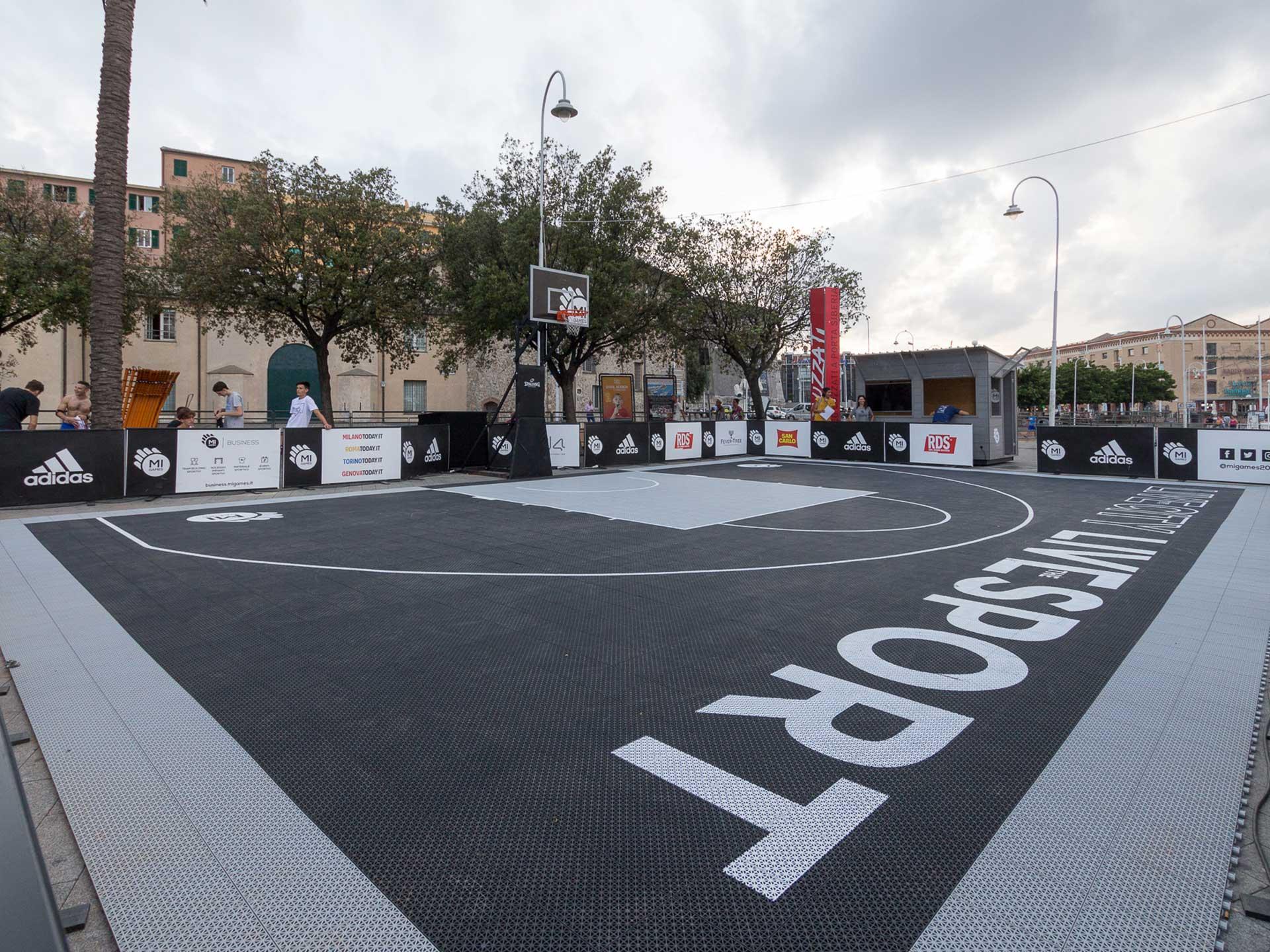 Campo basket - Noleggiocampi.it