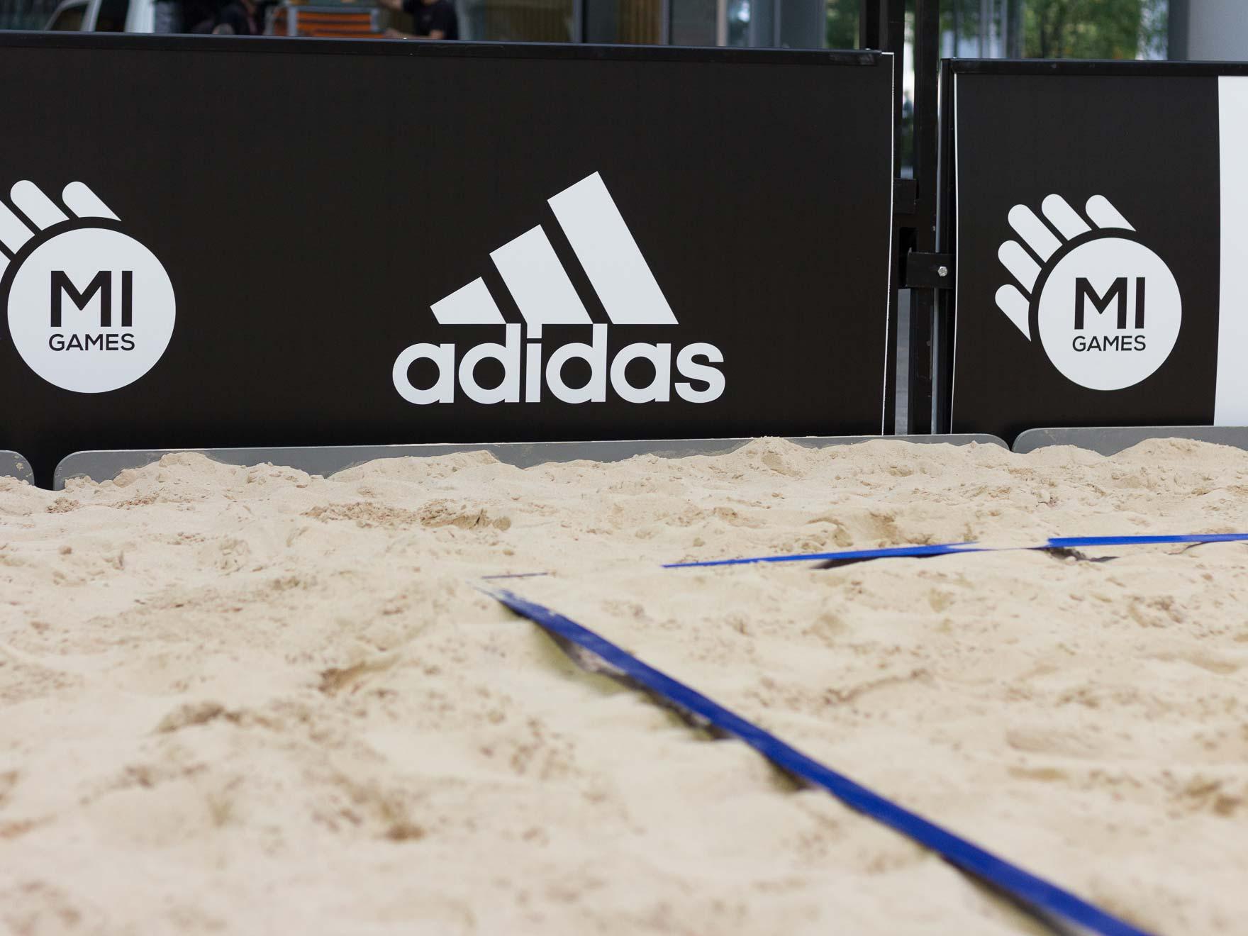 Linee beach volley - Noleggicoampi.it