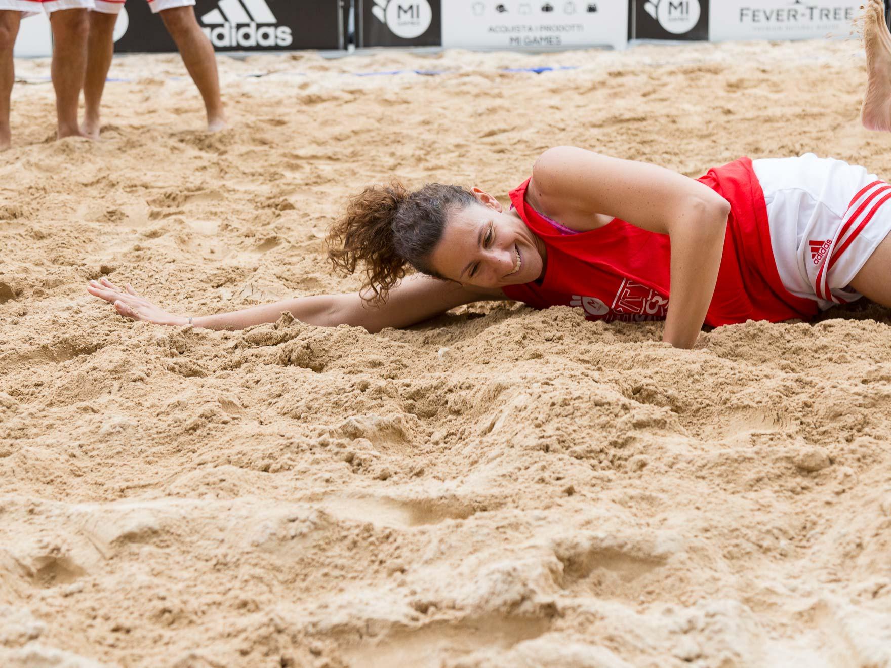 Sabbia beach volley - Noleggicoampi.it
