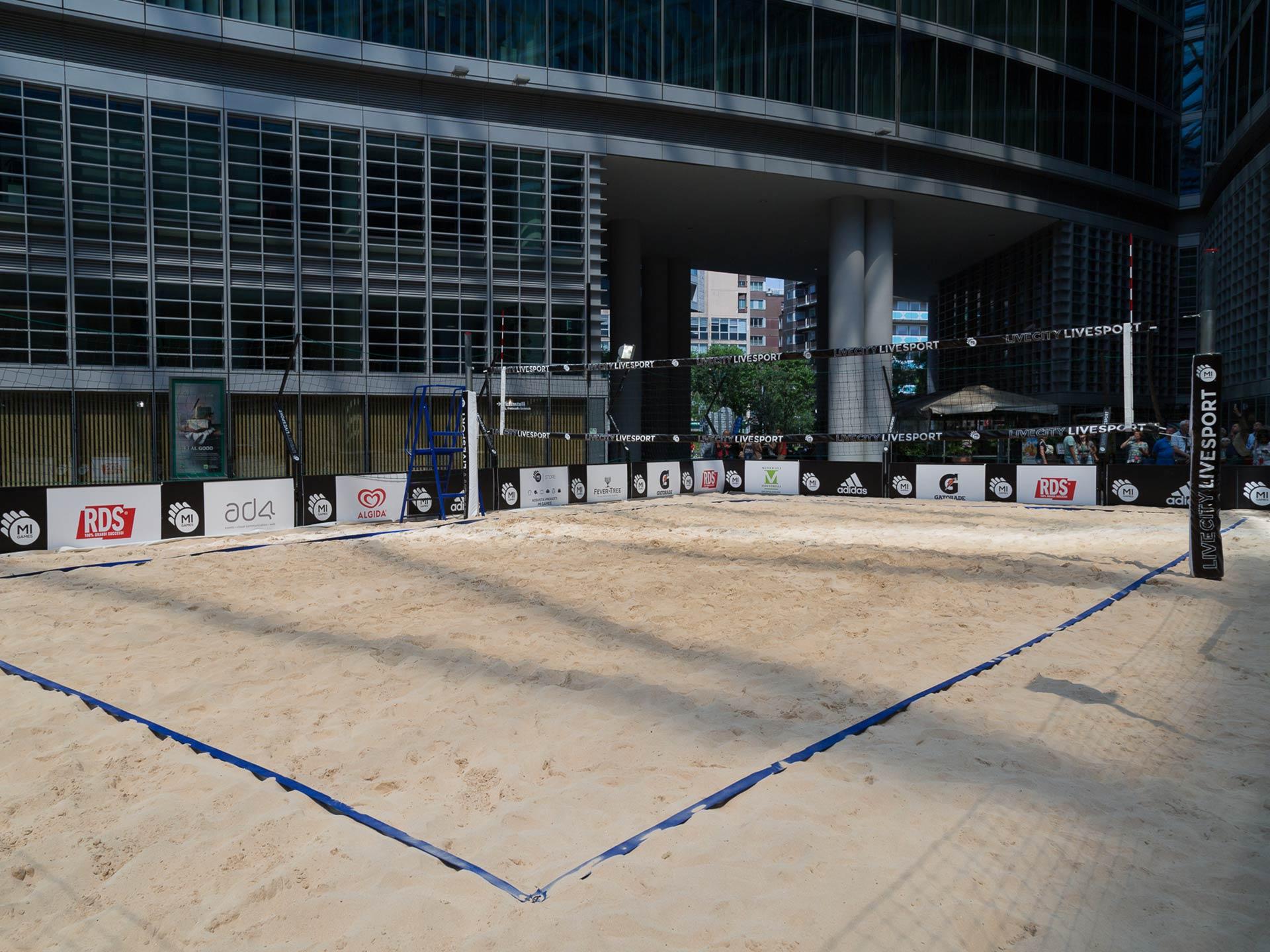 Campo beach volley - Noleggicoampi.it