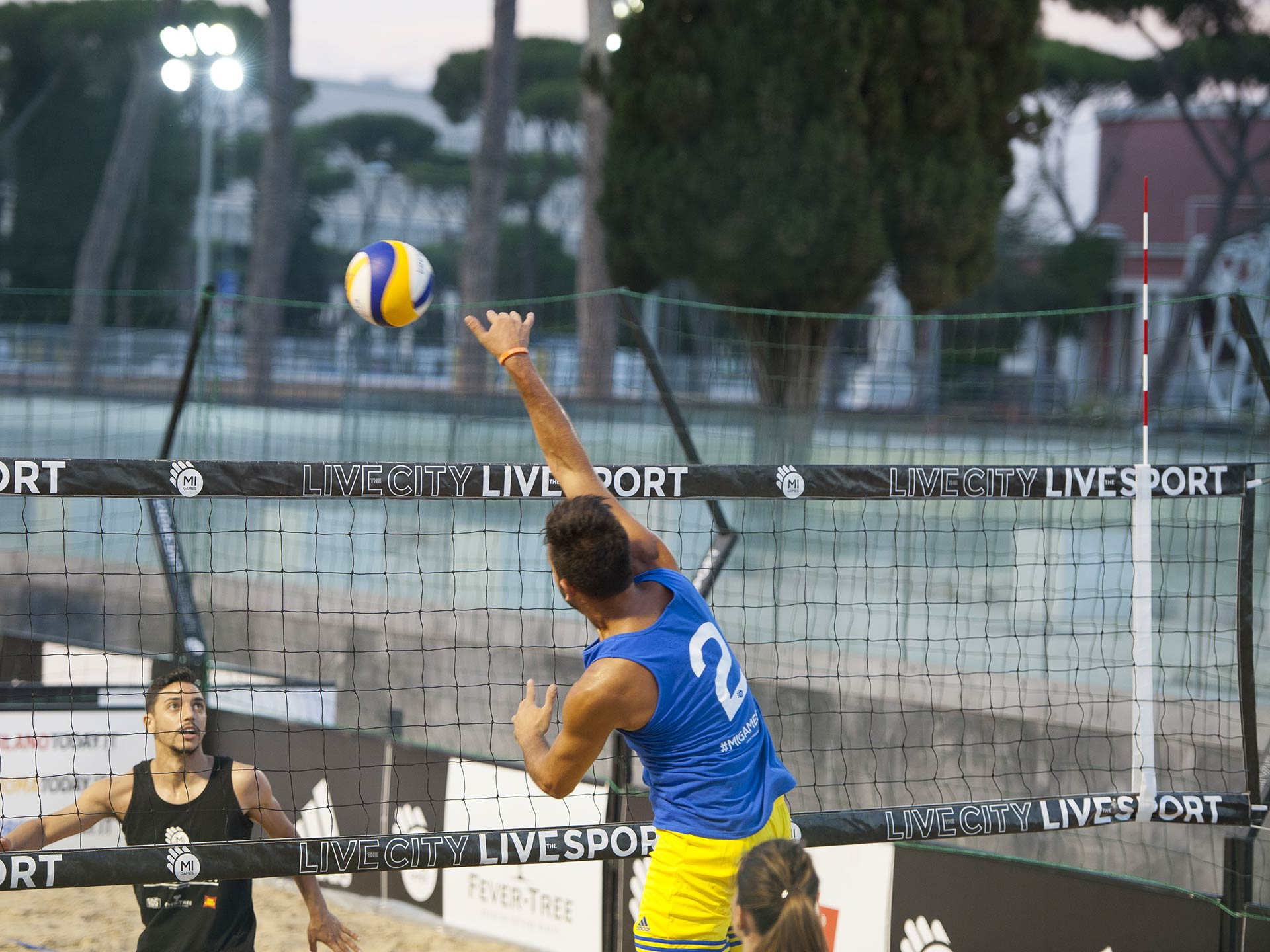 Rete beach volley - Noleggicoampi.it